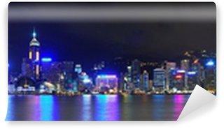Vinylová Fototapeta Hong Kong Hong Kong Skyline Panorama