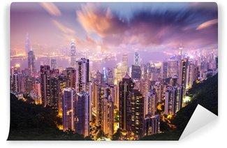 Vinylová Fototapeta Hong Kong Skyline