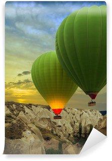 Vinylová Fototapeta Horkovzdušné balóny při západu slunce, Cappadocia, Turkey