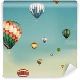 Vinylová Fototapeta Horkovzdušné balóny ve snu