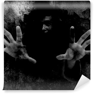 Vinylová Fototapeta Horor Pozadí Pro Koncepce Halloween