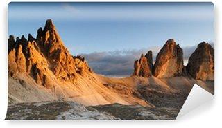 Vinylová Fototapeta Horské Dolomity