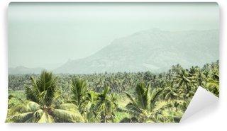 Vinylová Fototapeta Hory a džungle s palmami jihovýchodní Asii