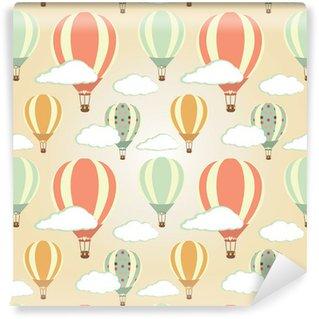 Vinylová Fototapeta Hot Air Balloons vzor