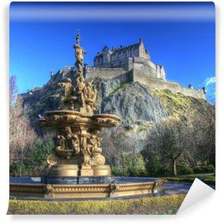 Vinylová Fototapeta Hrad Edinburgh ve Skotsku