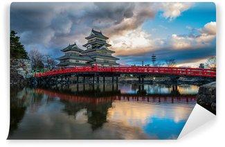 Vinylová Fototapeta Hrad Matsumoto, Japonsko