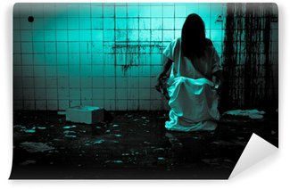 Vinylová Fototapeta Hrůza, nebo Scary Scene
