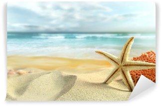 Vinylová Fototapeta Hvězdice na pláži