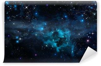 Vinylová Fototapeta Hvězdná obloha v otevřeném prostoru
