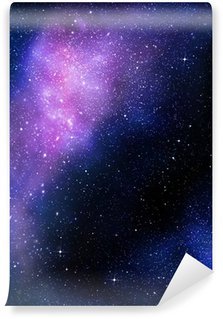 Vinylová Fototapeta Hvězdnatý hluboký vesmír nebual a galaxie