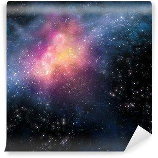 Vinylová Fototapeta Hvězdné pozadí hlubokého vesmíru