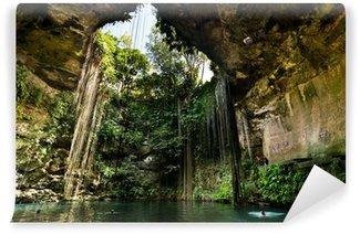 Vinylová Fototapeta Ik-Kil Cenote v blízkosti Chichén Itzá v Mexiku