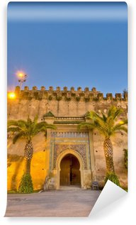 Vinylová Fototapeta Imperial City dveří v Meknes, Maroko