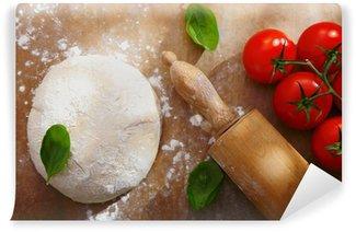 Vinylová Fototapeta Ingredience pro domácí pizza