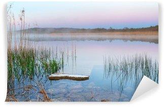 Vinylová Fototapeta Irský jezero před svítáním
