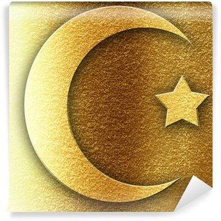 Vinylová Fototapeta Islám znamení