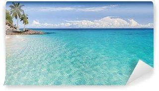 Vinylová Fototapeta Island, pláže a laguny