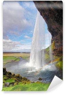Vinylová Fototapeta Island vodopád - Seljalandsfoss