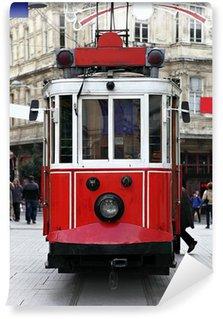 Vinylová Fototapeta Istanbul Public Tram