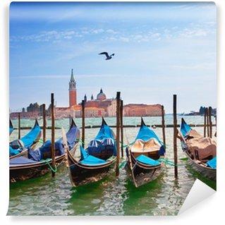 Vinylová Fototapeta Itálie. Benátky. Gondoly na Canal Grande ..