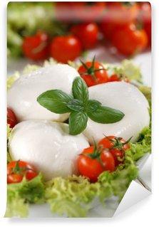 Vinylová Fototapeta Italská buvolí mozzarella s cherry rajčátky