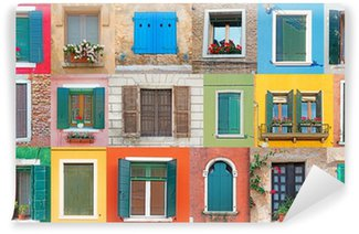 Vinylová Fototapeta Italská Windows