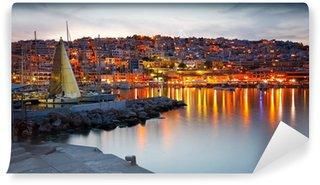 Vinylová Fototapeta Jachty v Mikrolimano přístavu v Piraeus, Atény.