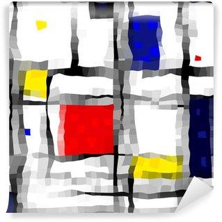 Fototapeta Winylowa Jak Mondrian