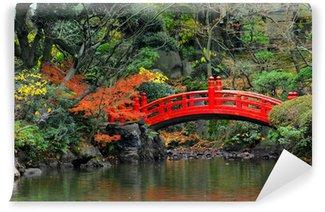 Vinylová Fototapeta Japonske zahrady