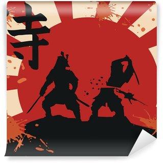Vinylová Fototapeta Japonsko samuraj