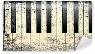 Vinylová Fototapeta Jazz Style Piano