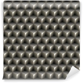 Fototapeta Winylowa Jednolite 3d tekstury kostki