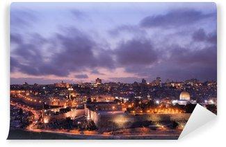 Vinylová Fototapeta Jeruzalém Skyline