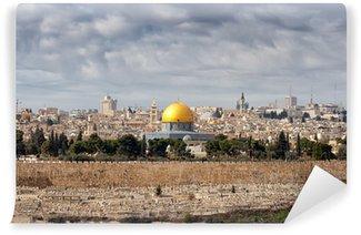 Vinylová Fototapeta Jeruzalém