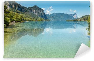 Vinylová Fototapeta Jezero Mondsee v Rakousku