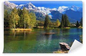 Vinylová Fototapeta Jezero se studenou vodou