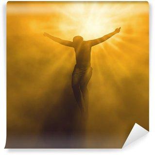 Vinylová Fototapeta Ježíš Kristus v nebi