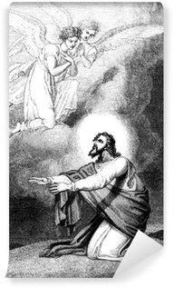 Vinylová Fototapeta Ježíš modlil na hoře Olivetské