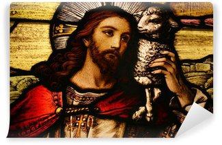 Vinylová Fototapeta Ježíš s Beránkem