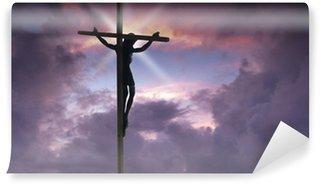 Fototapeta Vinylowa Jezus Chrystus na krzyżu