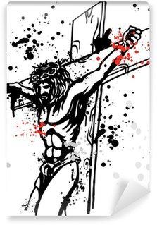 Fototapeta Vinylowa Jezus tła