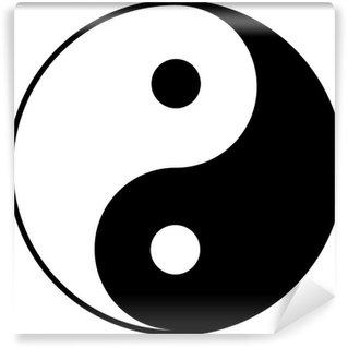 Vinylová Fototapeta Jin jang symbol
