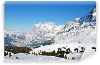 Fototapeta Winylowa Jungfrau Massif, Swiss Alps