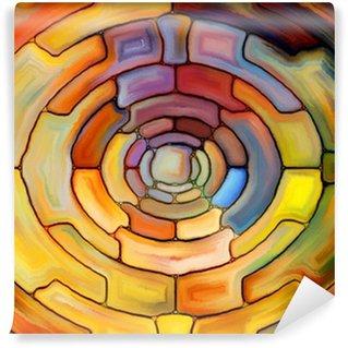 Vinylová Fototapeta K náhodnému Stained Glass
