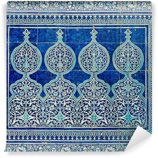 Fototapeta Winylowa Kafelki tło z orientalnymi ornamentami