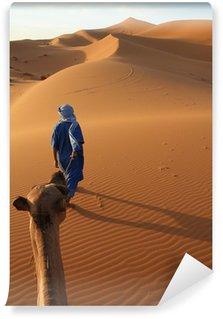 Vinylová Fototapeta Karawane und Tuareg