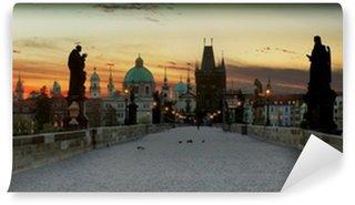 Vinylová Fototapeta Karlův most v Praze