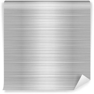Vinylová Fototapeta Kartáčovaný kov nebo hliníkový plech