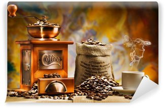 Fototapeta Winylowa Kawa dla martwej natury