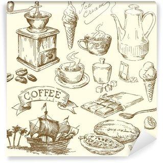 Fototapeta Winylowa Kawa, herbata, czekolada kolekcja